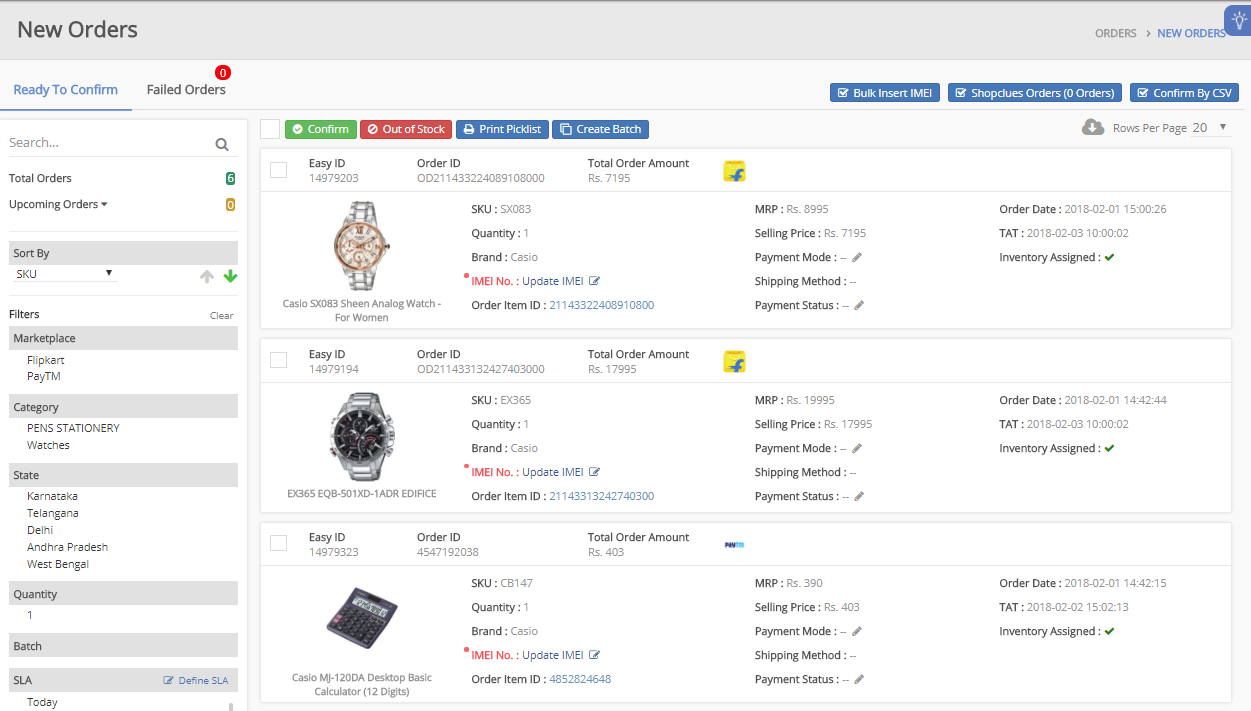 1 Multi-Channel Inventory Management Software - EasyEcom